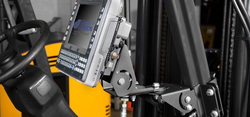 Tablet Computing on a Forklift