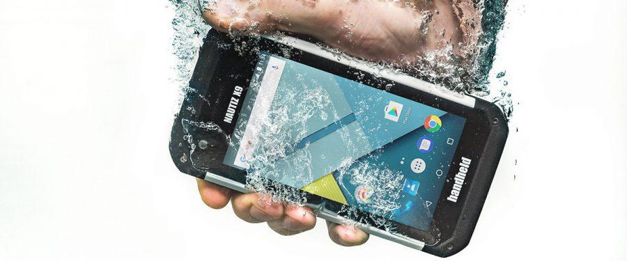 The New Nautiz X9 Rugged Handheld PDA