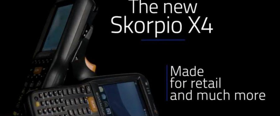Introducing the New Generation Datalogic Skorpio X4