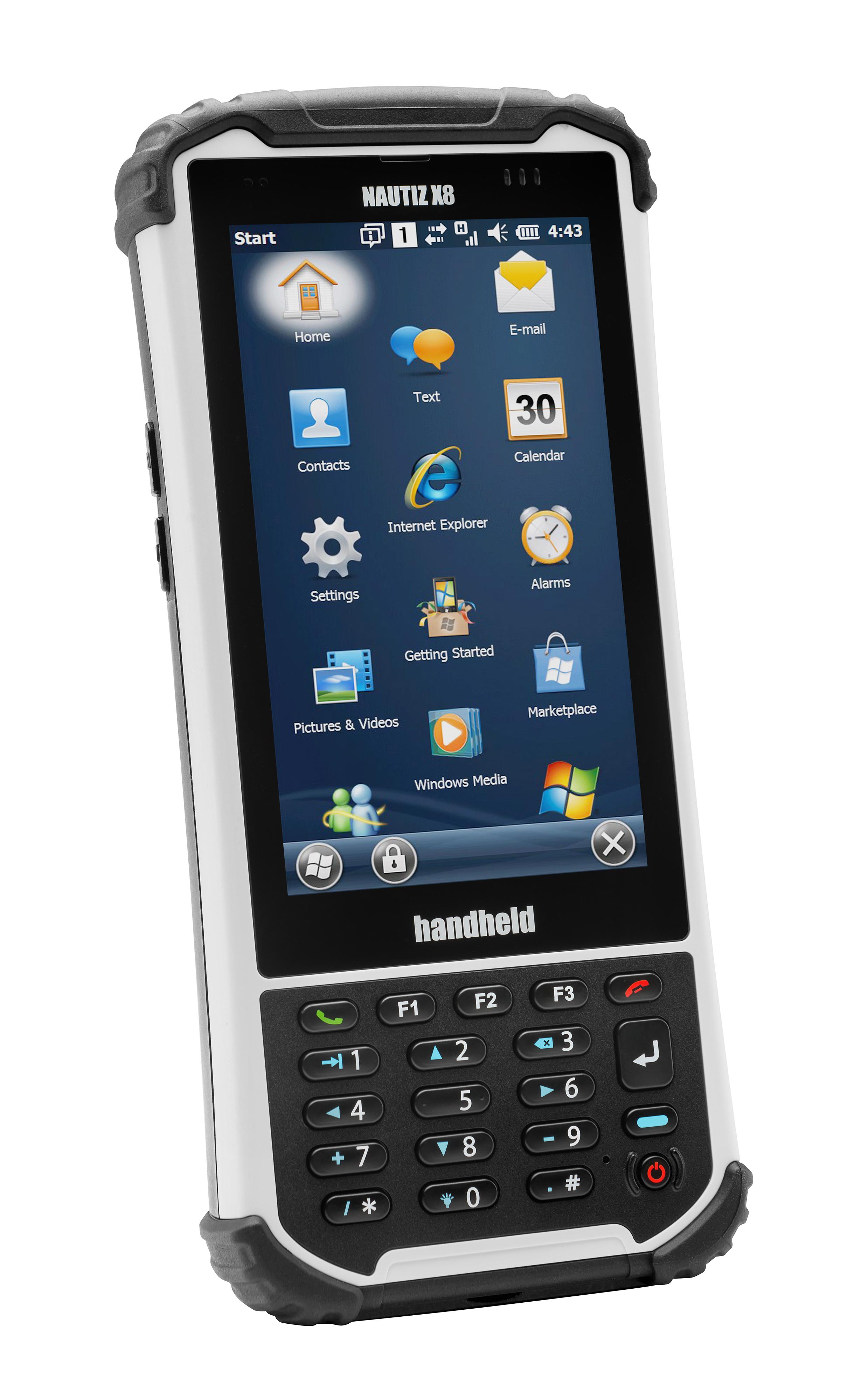 Handheld APAC Nautiz X8