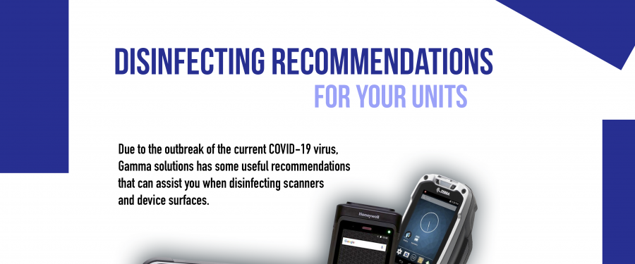 Disinfecting recommendations for your units to combat the Coronavirus