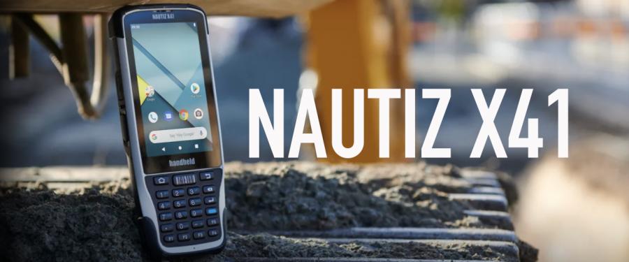 Introducing the Nautiz X41 Rugged Android Handheld