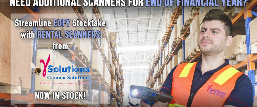 Need Additional Scanners for End of Financial Year?