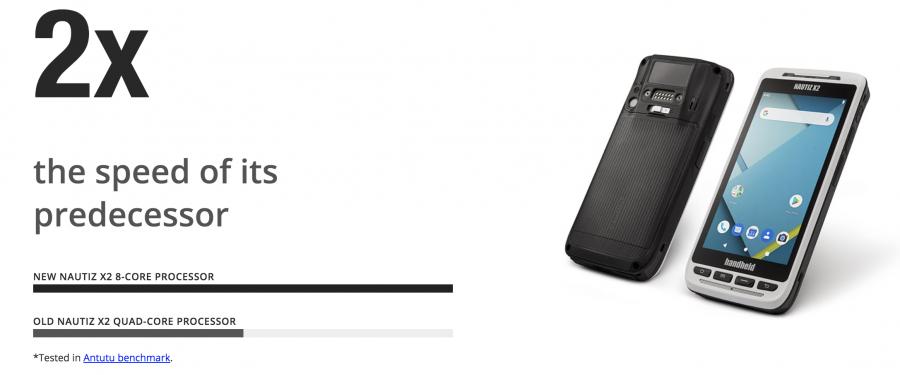 Introducing the new Handheld NAUTIZ X2