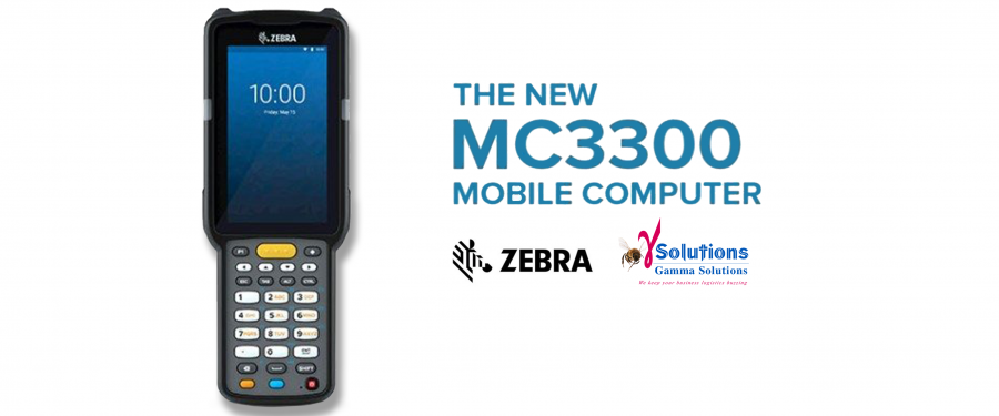 Zebra MC3300 – The Ultimate Lightweight, Rugged, Key-based Touch Mobile Computer