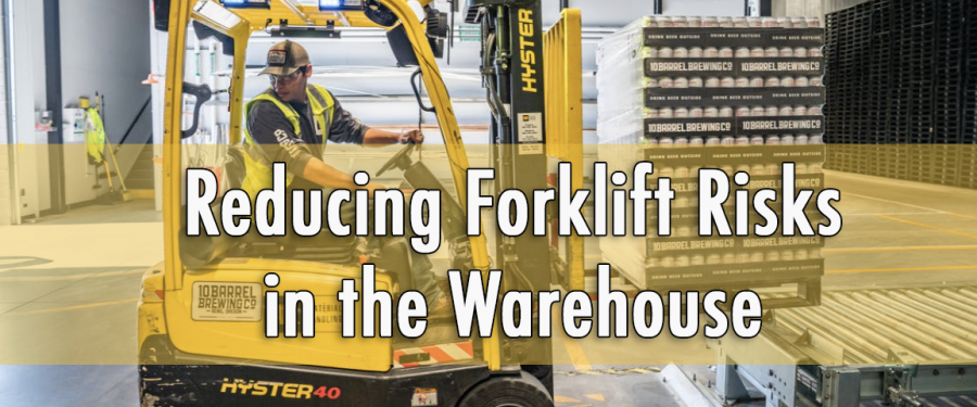 Reducing Forklift Risks in the Warehouse