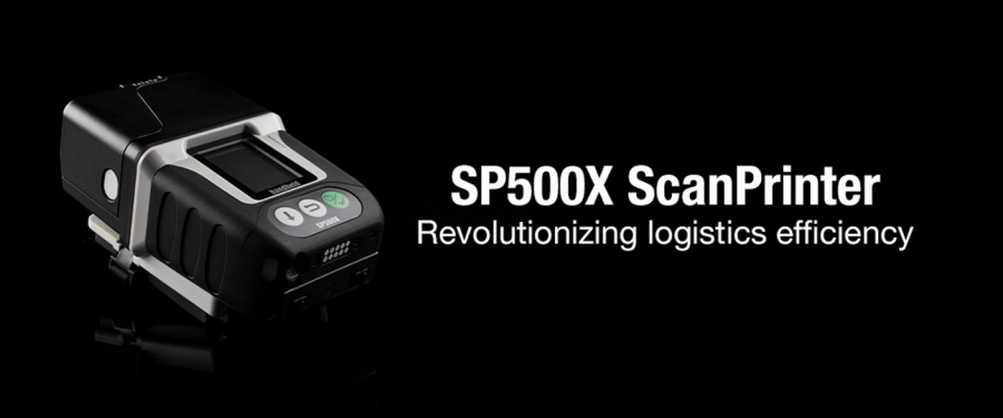 Handheld SP500X – The all in one Print and Scan device